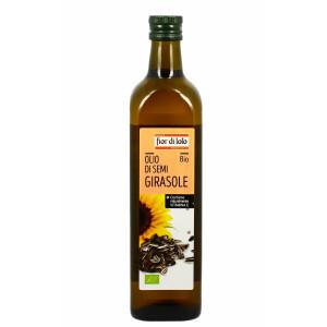 Ulei bio din seminte de floarea soarelui, Fior di Loto 750ml
