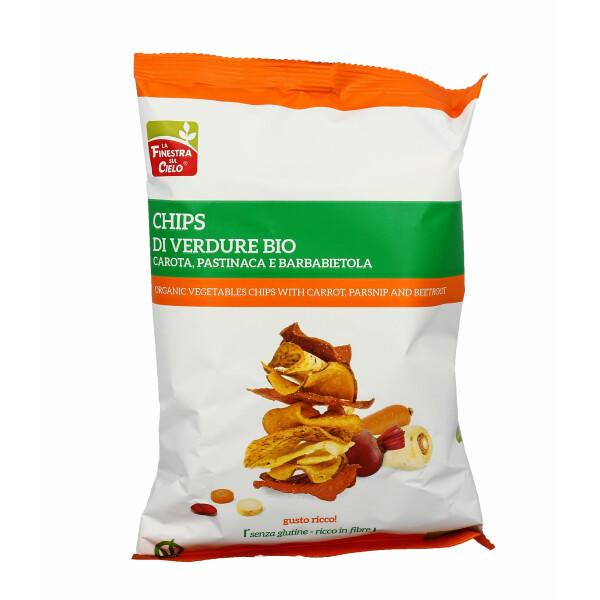 Chips bio cu legume (fara gluten, vegan) 75g