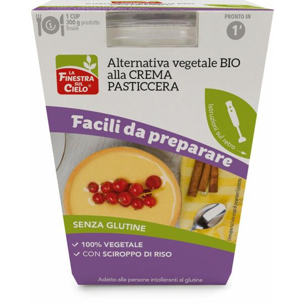 Alternativa vegetala bio la crema pasticcera (fara gluten) 80g