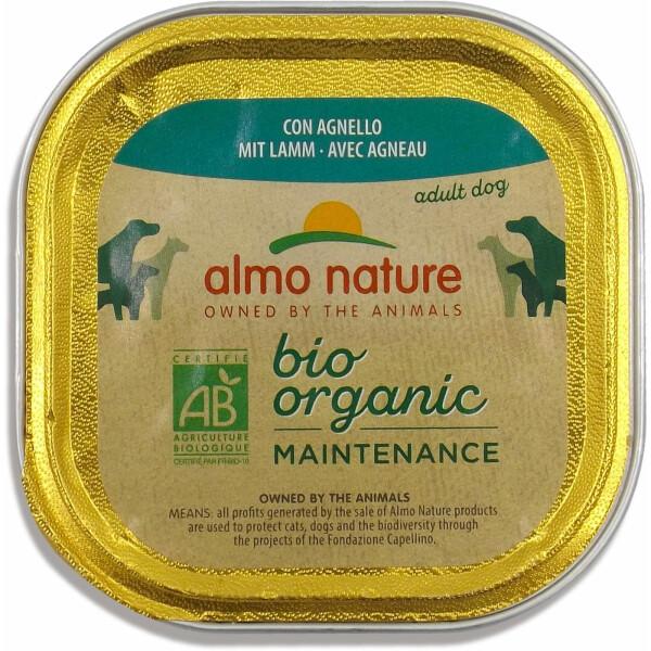 Almo Nature BioOrganic Maintenance Hrana umeda pentru caine adult, cu miel 300g