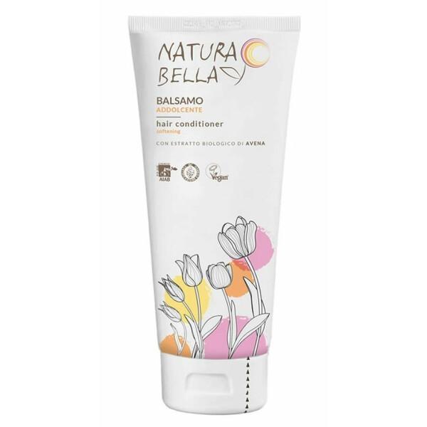 Balsam pentru par, cu extract de ovaz, vegan, Natura Bella 250ml
