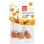 Acadele bio cu gust de cola Lollypops, fara gluten, Fior di Loto 64g
