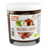 Crema bio tartinabila de alune si cacao, fara ulei de palmier, Fior di Loto 200g