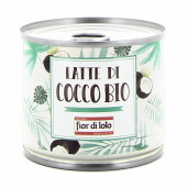Lapte de cocos bio, Fior di Loto 200ml