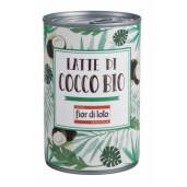 Lapte de cocos bio, Fior di Loto 400ml