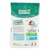 Biscuiti BIO BuongiornoBio cu quinoa si cacao (fara drojdie, fara lapte, fara ulei de palmier) 250 g