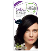 Vopsea permanenta fara amoniac Colour & Care - 1 Black