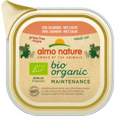 Almo Nature BioOrganic Maintenance Hrana umeda pentru pisica adult, cu somon 85g