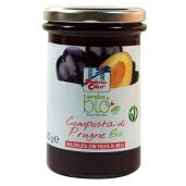 Gem bio de prune (indulcit cu pulpa de mere) 320g