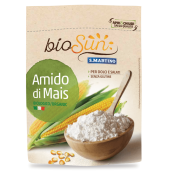 Amidon bio de porumb fara gluten, vegan 120g bioSUN