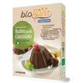 Pudra pentru budinca de ciocolata bio fara gluten, vegan 50g bioSUN
