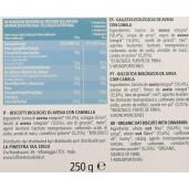 Biscuiți bio din ovăz cu scorțișoară (produs fără lapte, fără drojdie de bere) 250g