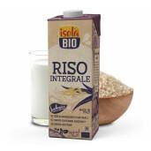 Bautura bio din orez brun (integral) 1L Isola Bio (fara gluten)