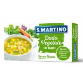 Cuburi vegetale pentru supa, fara glutamat, fara gluten (10 cuburi) 110g S.Martino