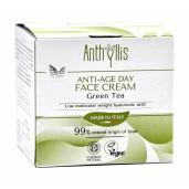 Crema de fata anti-age pentru zi, cu ceai verde, vegan, Anthyllis 50ml
