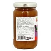 Gem bio de smochine (indulcit cu pulpa de mere), vegan, La Finestra Sul Cielo 220g