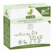 Tablete ECO hidrosolubile pentru masina de spalat vase, vegan, (25 buc.) Ecosi 450g
