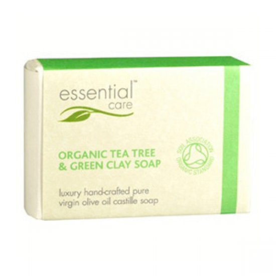 Sapun antibacterian cu tea tree si argila verde